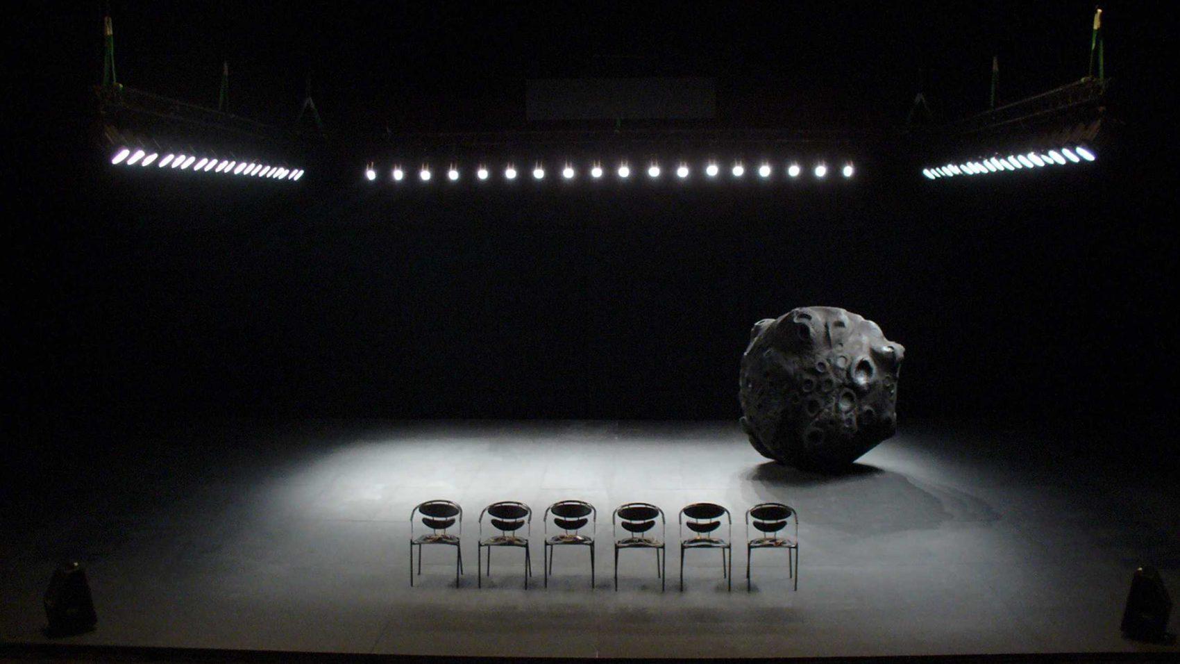 Nadia Lauro – La météorite  - La météorite  2006