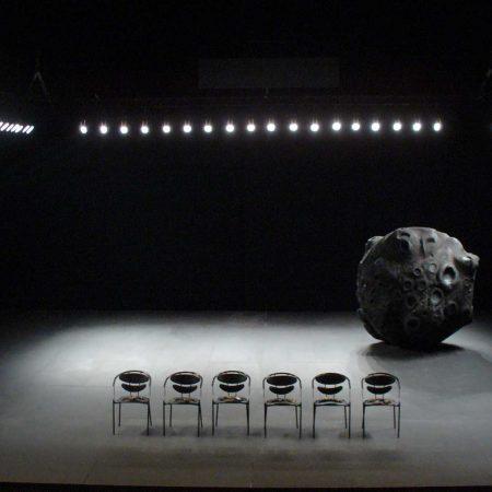 La météorite  Jusqu'à ce que Dieu soit détruit par l'extrême exercice de la beauté 2006